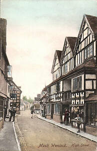 Much-Wenlock-High-Street-by-Frith-for-T-H-Thompson-Much-Wenlock