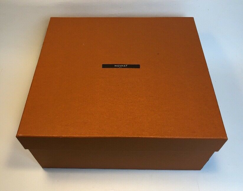 Authentic MOYNAT PARIS Empty Box - 12.75  x 14  x 6.75""