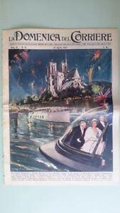 La-Domenica-del-Corriere-21-aprile-1957-Elisabetta-II-Parigi-Fritz-Edel