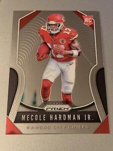2019 Panini Prizm Football Base RC #345 Mecole Hardman Jr. - Kansas City Chiefs