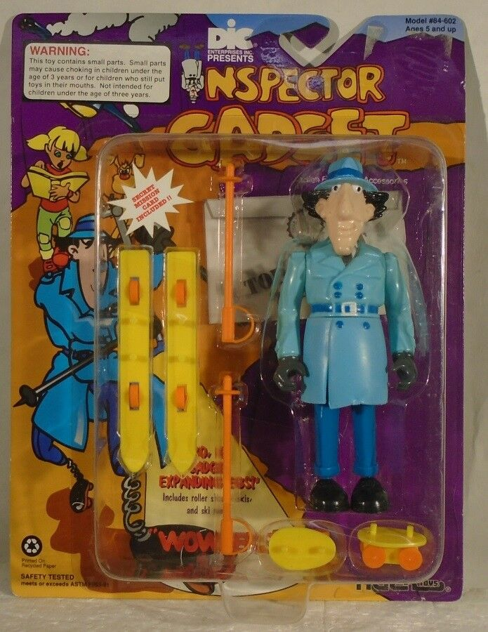 Inspector Gadget - Inspector Gadget  Go, Go Gadget Expanding Legs  Tiger (MOC)