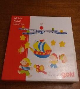Goki-Mobile-Pirati-in-legno-culla-giocattolo-nuova-Barca-dei-pirati-per-bambini-Baby