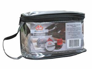 Kiwi-SELECT-Leather-Care-Kit-Black-Brown-Brush-Buff-Polish-Wax-Shine-Shoe-Boots