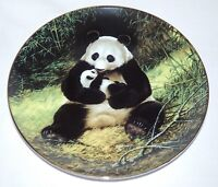 WS GEORGE The Panda Will Nelson Endangered Species 1st Plate COA