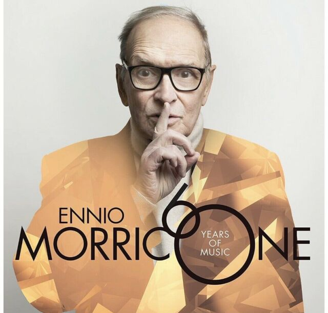 ENNIO MORRICONE 60 YEARS OF MUSIC DOPPIO VINILE LP NUOVO SIGILLATO