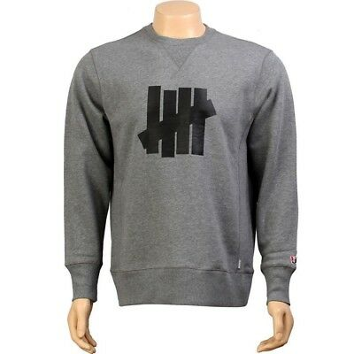 Responsible Undefeated Corporate Five Men's Heather Gray Crew Neck Shirt 5018115hea Men's Clothing Clothing, Shoes & Accessories
