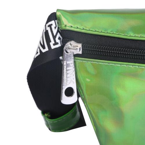 Women/'s Fanny Pack Shiny Belt Waist Bag Leather Pouch Waist Phone Pocket NEW