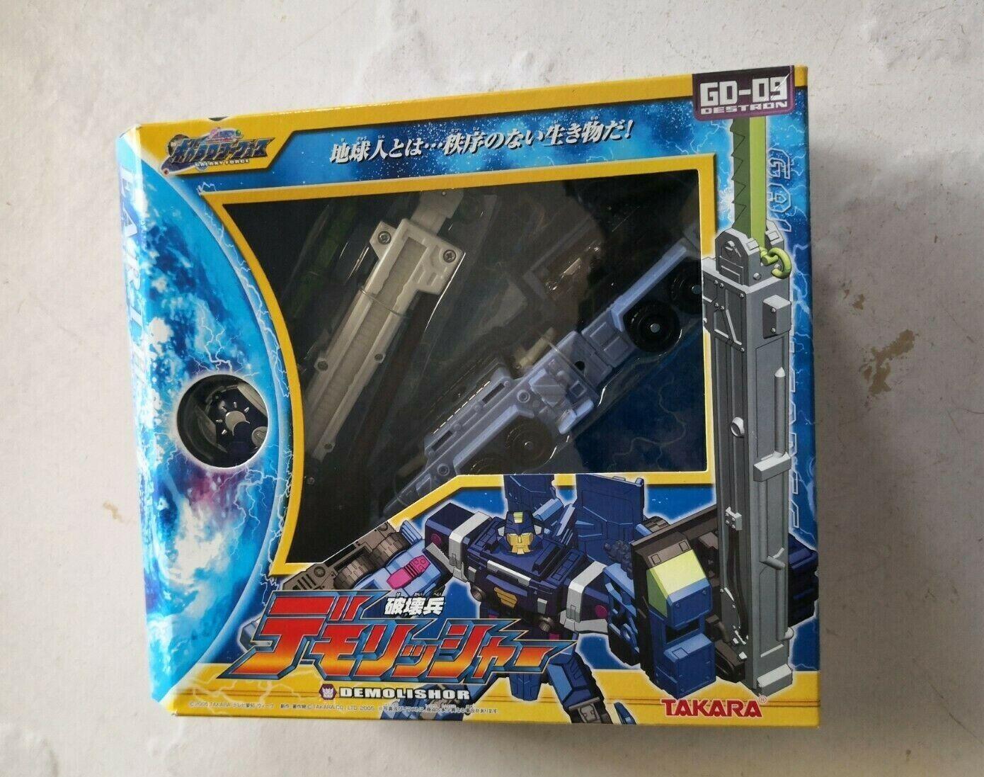 TransFormers Galaxy ForceCybertron GD09 DEMOLISHOR cifra, Cybertron Mudflap
