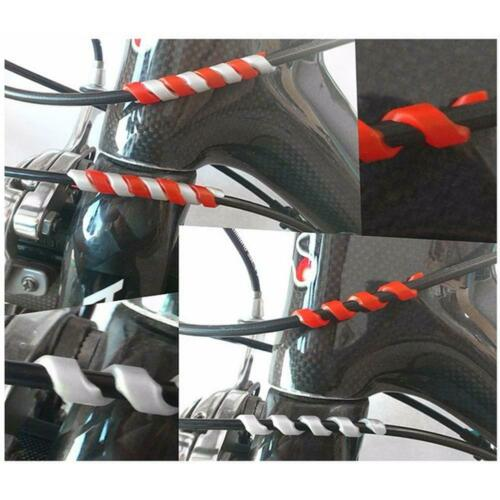 Shift Bike Cable Derailleur Pipe Line Cable Wrap Brake 5Pcs Bicycle Sleeve Cover