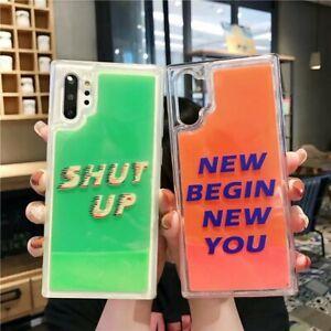 COOL-Design-Funny-Noctilucence-Quicksand-Back-Soft-Case-Cover-Skin-For-Phones
