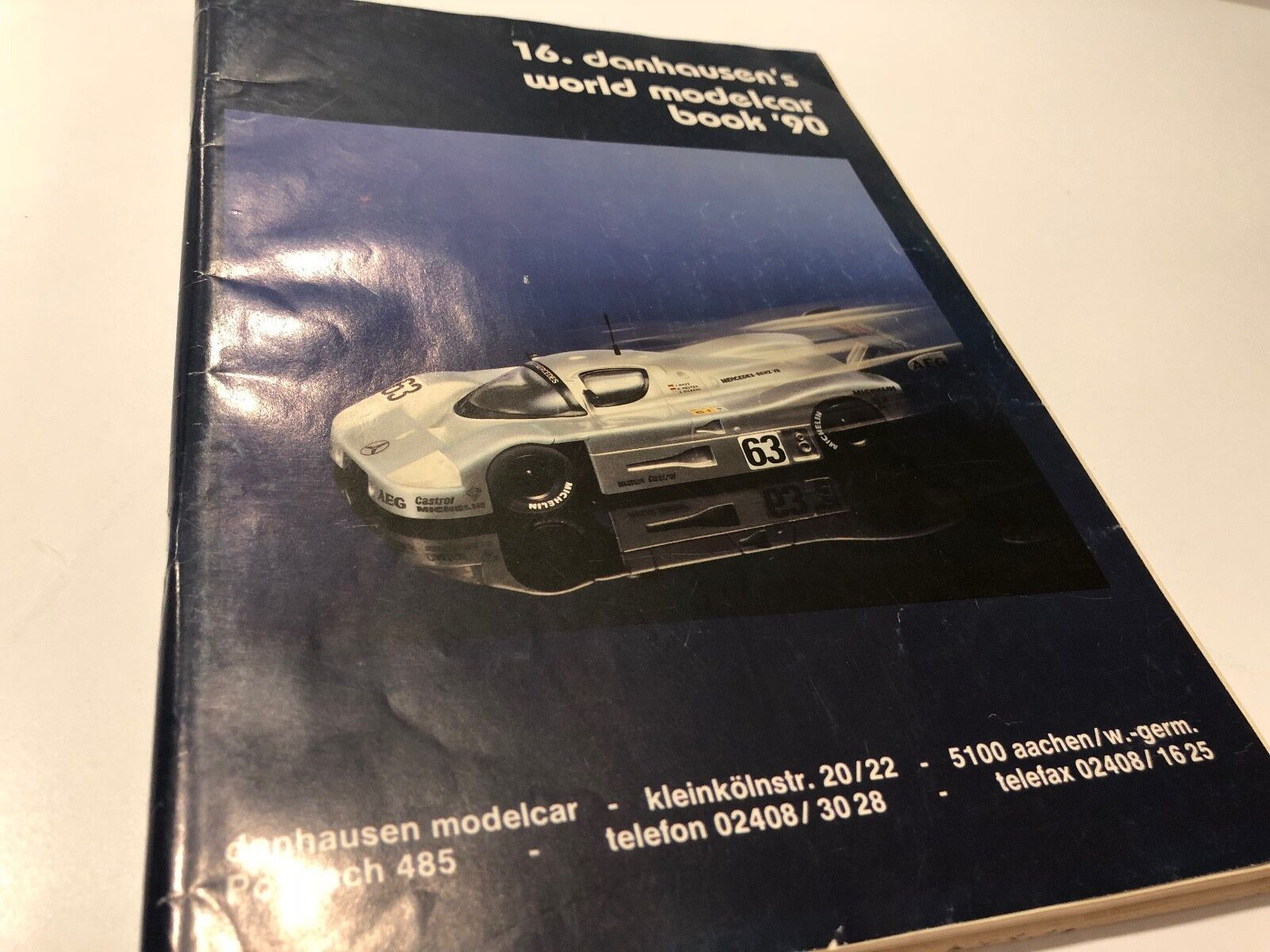 16. Danhausen's World Modelcar Book '90, model catalog complete
