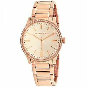 cf41b18386bb Michael Kors Bailey Rose Gold-tone 38mm Watch MK3809 for sale online ...