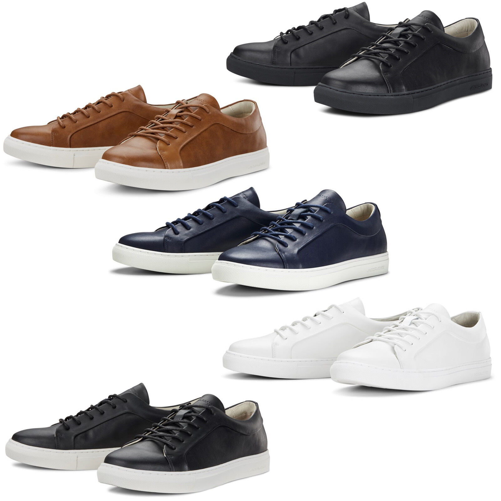 Jack & Jones Sputnik Trainers  Uomo Classic Flat Fashion Sneakers Schuhes Pumps