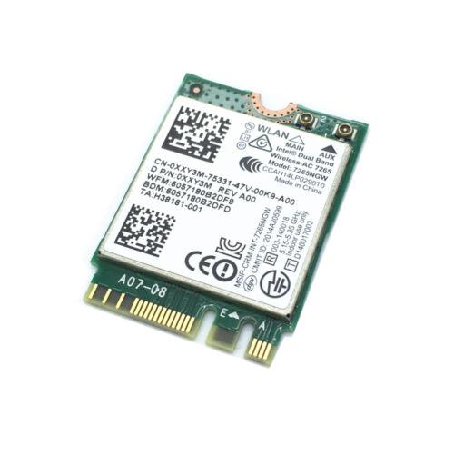 BT 4.0 Card Intel Wireless-AC 7265 7265NGW 802.11ac 867M NGFF Dual Band Wifi