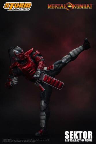 Mortal Kombat Sektor 1//12 Actionfigur Storm Collectibles