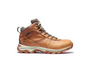 Timberland Men's Mt.Maddsen Mid Hiking Boots NEW AUTHENTIC Light Brown A1J1N230
