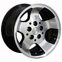 Set Of 4 15 Fits Jeep - Wrangler Wheel - Black 15x8 Brand