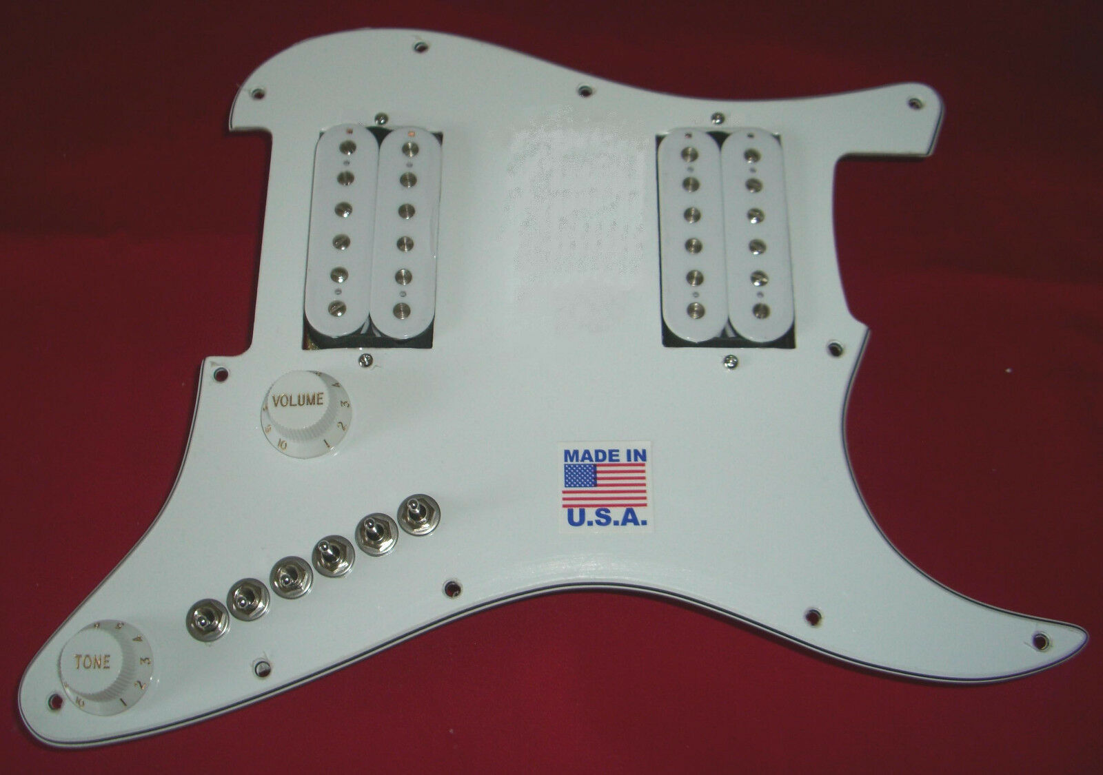 AMI Loaded Upgrade Fits Fender HH Stratocaster Strat Has 68 Tones + Treble Bleed
