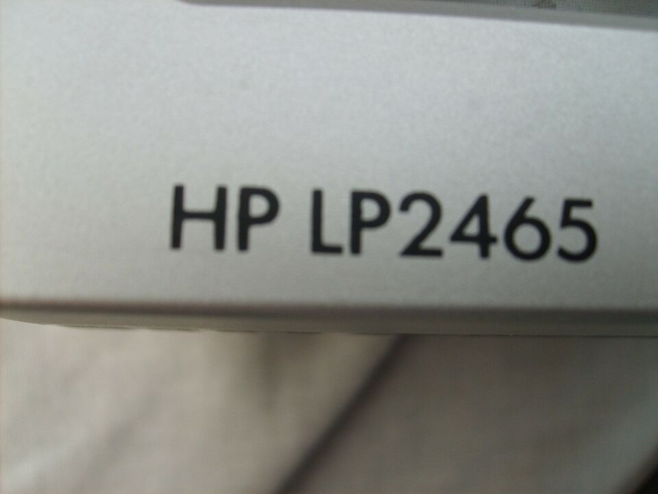 HP, fladskærm