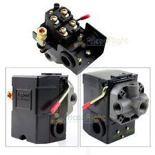Four Port Air Compressor Pressure Switch Control Valve 145 175 Psi With Unloader