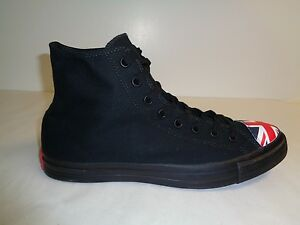 Nuevo Black Unisex Ctas Shoes 13 Red Hi Sneakers Flag Kingdom Size United Converse 888753840407 wxICHvgw