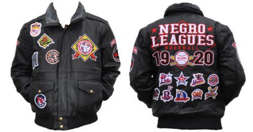 NLBM Negro League Leather Jacket 1920