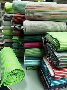 Kleider-Buendchenstoff-i-Schlauch-gestreift-v-Hilco-je-25-cm-verschiedene-Farben