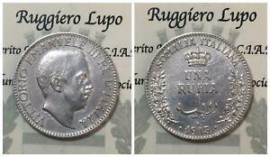 Somalie-Italiana-Vittorio-Emanuele-III-Roupie-1913-RAR-Avis-D-Expert-Qspl-Spl