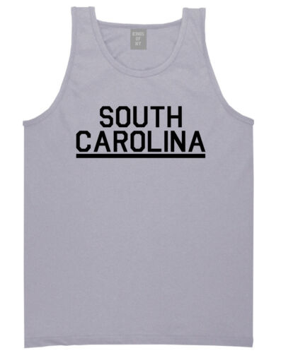 Kings Of NY South Carolina USA State SC Tank Top T-Shirt