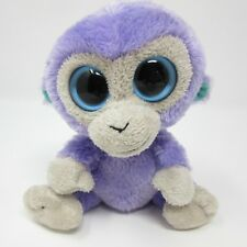 9dbfd1bb71b item 6 Ty Beanie Boo Blueberry purple lilac mauve blue monkey soft toy  plush small 6