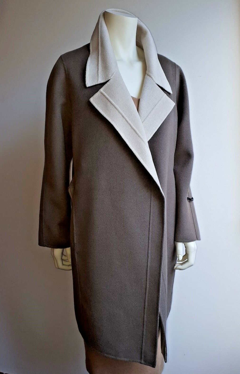MARINA RINALDI Angora&Wool Blend Coat Plus size MR MR MR 27_USA W18_ I 56_ D 48_ F52 2099cc
