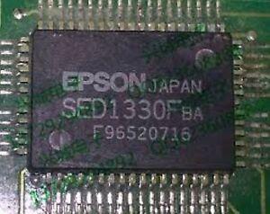 2PCS UPD7225G00 Encapsulation:QFP,PROGRAMMABLE LCD CONTROLLER//DRIVER