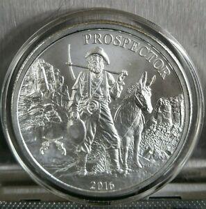 Colt 45 Privy Mark 1 Oz 999 Silver Prospector Round