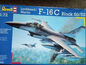 Revell 1/72 Kit Lockheed Martin F-16c Block 50/52 N ° 04633 Copyright 2002 4009803046334