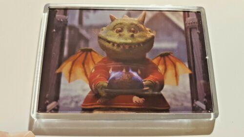 Edgar Excitable Dragon xmas jumper /&  pudding Advert Jumbo Fridge Magnet 90x60mm