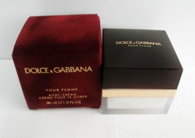 Dolce & Gabbana Pour Femme Womens Body Cream 30ml/1.0 oz New In Box