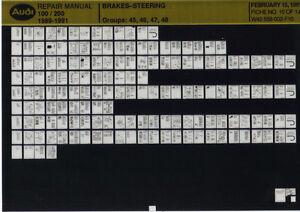 Audi 100_200_1989-1991_Repair Manual_brakes steering_Microfich_Fich_Microfilm - Deutschland - Vollständige Widerrufsbelehrung Widerrufsbelehrung Widerrufsrecht Sie haben das Recht, binnen vierzehn Tagen ohne Angabe von Gründen diesen Vertrag zu widerrufen. Die Widerrufsfrist beträgt vierzehn Tage ab dem Tag, an dem Sie oder ein vo - Deutschland