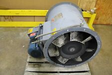 Hartzell 54 26 Vn3 14400 Cfm Vaneaxial Axial Tube Duct Blower 10hp 3ph 230460v