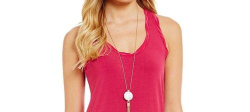 NWT MSRP $148 TOMMY BAHAMA Tambour Racerback Maxi Dress Pink Papaya XS  S  M  L