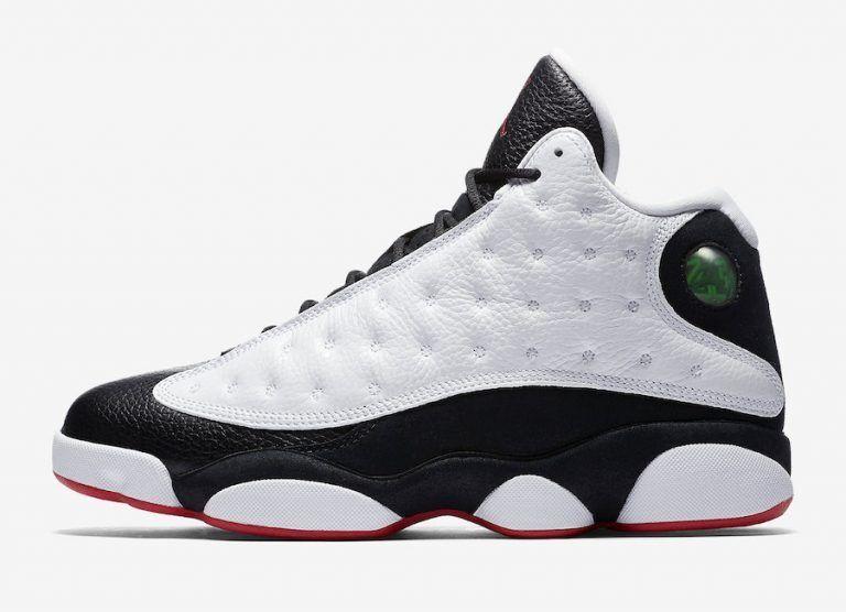 Nike Air Jordan Retro 13 XIII He Got Game 2018 White Black True Red 414571 104