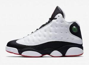 18b56f614cd1 Nike Air Jordan Retro 13 XIII He Got Game 2018 White Black True Red ...