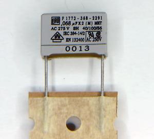 150nF 305VAC VDE X2 MKT Entstör Kondensator ca.17x12x7 ra.15 2 Stück