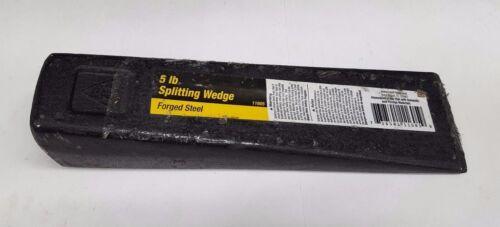 Qté 1 Ludell 11605 5 LB (environ 2.27 kg) en acier forgé Splitting Wedge