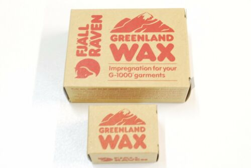 FJALLRAVEN Greenland Wax G-1000 fabric impregnation large or small travel pack