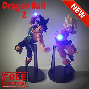 RARE Dragon Ball Z GOKU Power Up Led Light Lamp Action Figure 30CM