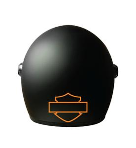 Harley Blank Logo Vinyl Decal - Motorcycle Helmet - Decal - Harley Davidson