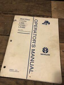 Ford new holland l465 lx465 lx485 service manual.