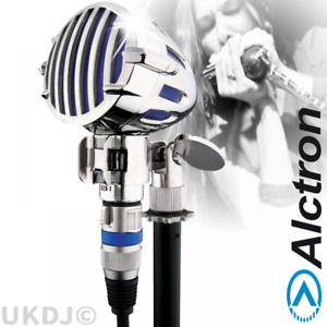 Blue BNIB Professional Retro Harmonica Instrument or Vocal Dynamic Microphone