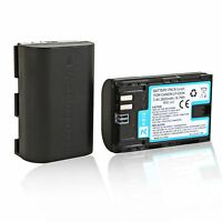 Canon Lp-e6 Battery Pack For 5d Mark Ii Iii Iv 80d 60d 70d 6d 7d Camera 2600mah