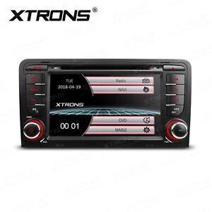 "xtrons 7"" hd autoradio für audi a3 s3 sd cd dvd usb gps navigation"
